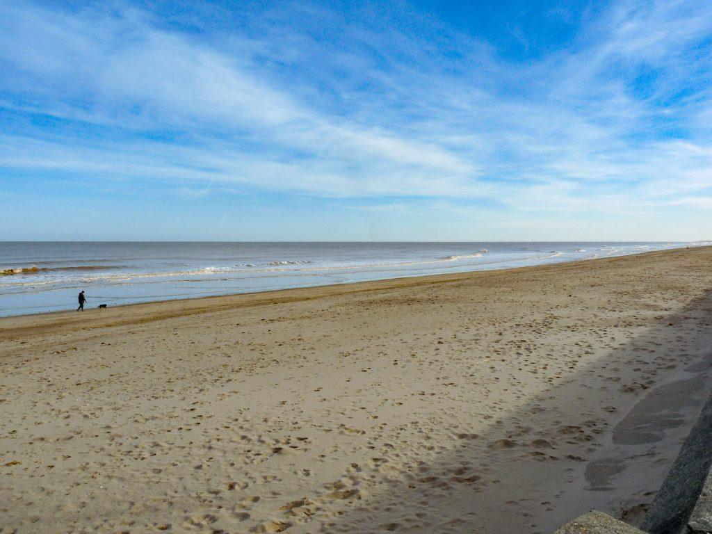 The beach at Trusthorpe